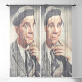 Norman Wisdom, Comedy Legend Sheer Curtain