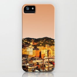 Camogli Harbor iPhone Case