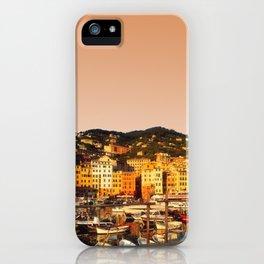Camogli Harbor iPhone Case