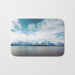 Dreaming of Mountains and Sky Bath Mat