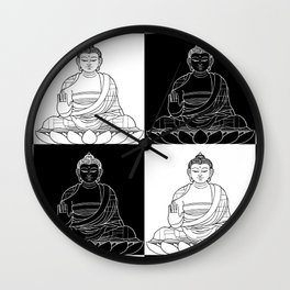 Ying & Yang Wall Clock