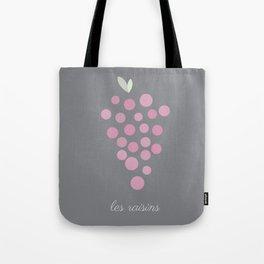 Les Raisins Tote Bag