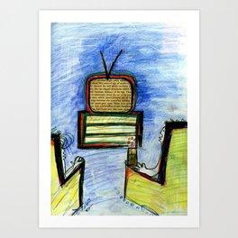 Infomercial Art Print