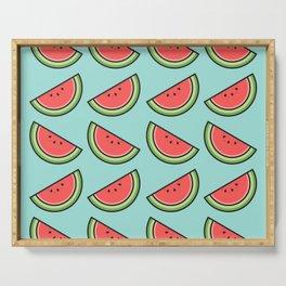 Watermelon Pattern Serving Tray