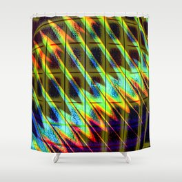 Abstract Perfection 21 Shower Curtain