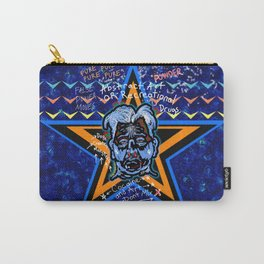 Abstract Drug Life Carry-All Pouch