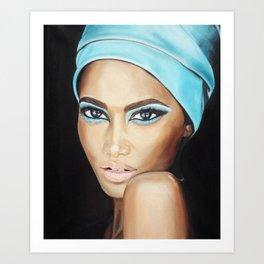 Imani Art Print
