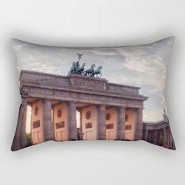 Brandenburg Gate in the Evening Rectangular Pillow
