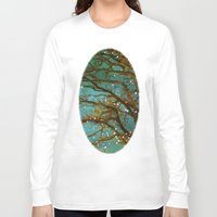 lights Long Sleeve T-shirts featuring Magical by The Last Sparrow