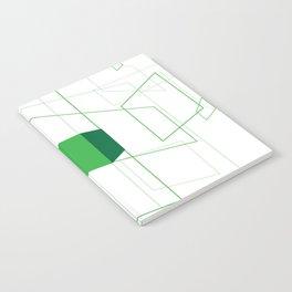 Blueprint #1 (green) Notebook
