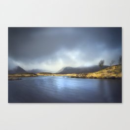 Riverbend in the Scottish Highlands Canvas Print