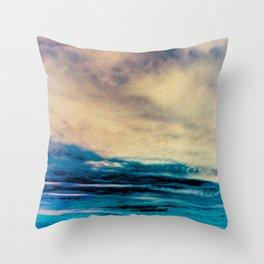 tropical storm Throw Pillow