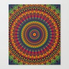 Mandala 529 Canvas Print