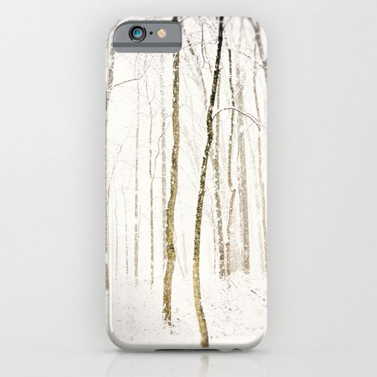 Snowy Trail iPhone & iPod Case
