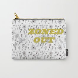 Zoned Out II - With Text Carry-All Pouch