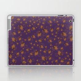 Adorable bats for Halloween (Purple) Laptop & iPad Skin