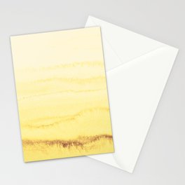 WITHIN THE TIDES - SUNNY YELLOW Stationery Cards