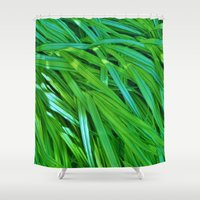 plants Shower Curtains featuring Plants by Catherine Donato