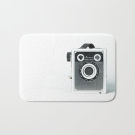 Sure Shot Vintage Camera Bath Mat