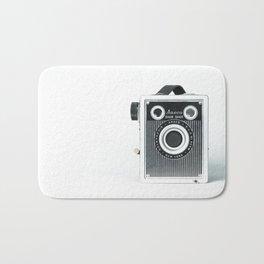 Sure Shot Vintage Camera Bath Mat