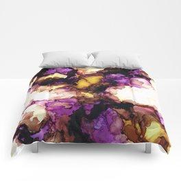 Antique Bearded Iris Comforters