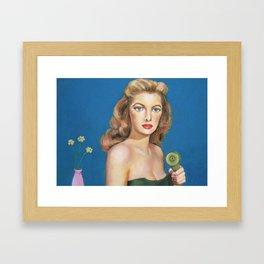 Call Me Sometime Framed Art Print