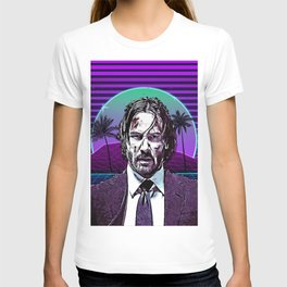jw synthwave T-shirt