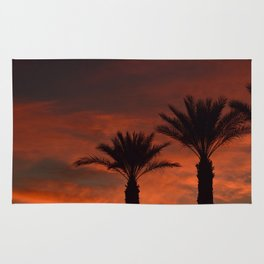 Palm Sunset - II Rug