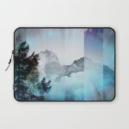 Boreal Lights on the Mountains Laptop Sleeve