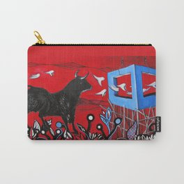 Trapped Bull Carry-All Pouch