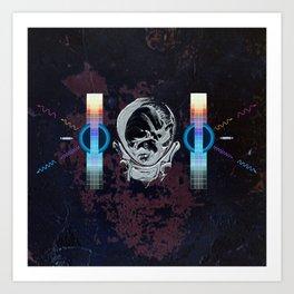 Birth of an Astronaut Art Print