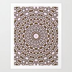 Sun Mandala CB Art Print