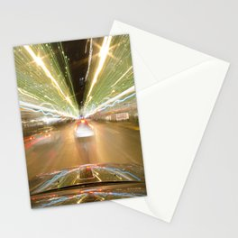 seattle lights Stationery Cards