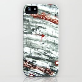 Share some love iPhone Case