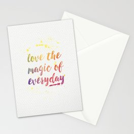 Magic of Everyday Stationery Cards