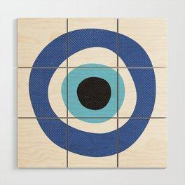 Evi Eye Symbol Wood Wall Art