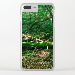 Boughs Photography Clear iPhone Case