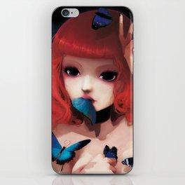 Chew my blue... iPhone Skin