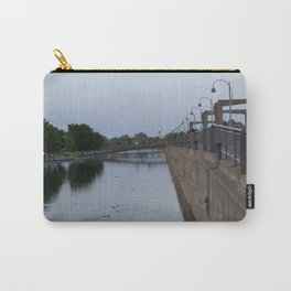 Bridge over the old port Carry-All Pouch