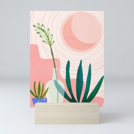 Pink Desert Mini Art Print