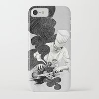 chef iPhone & iPod Cases featuring Galactic Chef by Kyle Cobban