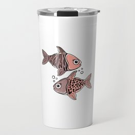 Animal Print - quirky mix of nature's works of art Travel Mug