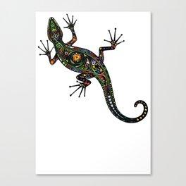 Lézard colors Canvas Print