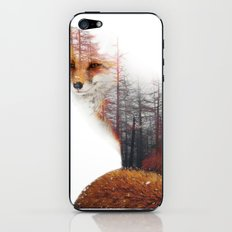 Misty Fox iPhone & iPod Skin