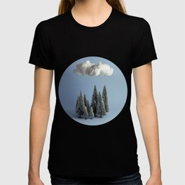 A cloud over the forest T-shirt