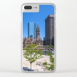 TORONTO 09 Clear iPhone Case