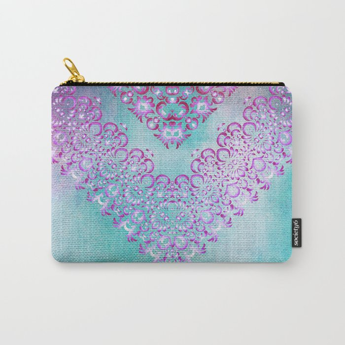 Floral Fairy Tale Carry-All Pouch
