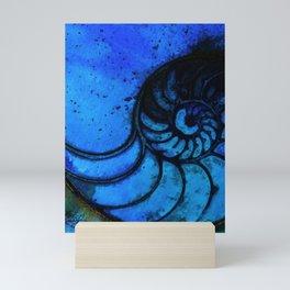 Nautilus Shell No. 987 by Kathy Morton Stanion Mini Art Print