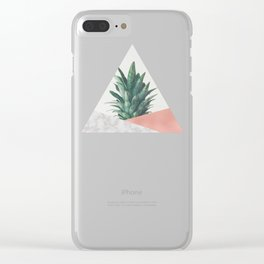 Pineapple Dip VI Clear iPhone Case