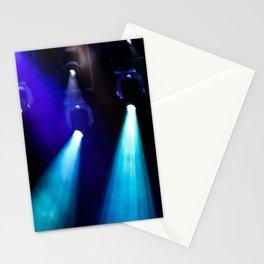 Blue Lights Stationery Cards
